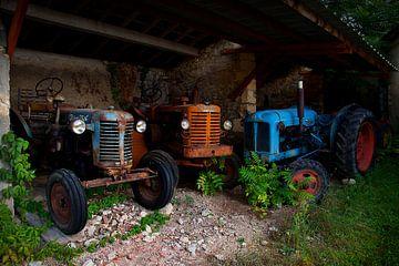 Drei Traktoren von Halma Fotografie