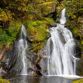 Triberg Waterfalls (4) van Ursula Di Chito