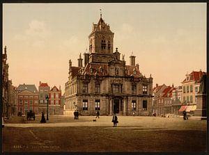 Stadhuis, Delft van Vintage Afbeeldingen