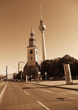 Berlijn straten van Falko Follert