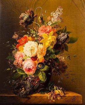 bloemstuk,  Oude meesters van Geertjan Plooijer