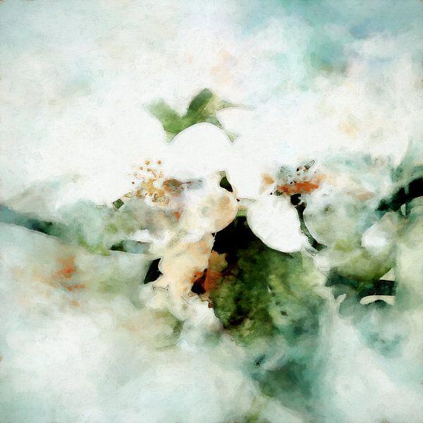 Lentebloesem van Andreas Wemmje