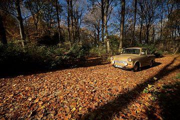 Trabi im Herbst von Jeroen Mooijman