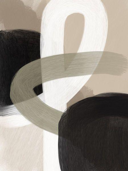 Modern abstract - vere van YOPIE illustraties