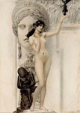 Allegorie der griechischen Skulptur, 1889 von Atelier Liesjes