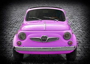Steyr-Puch 500 in roze