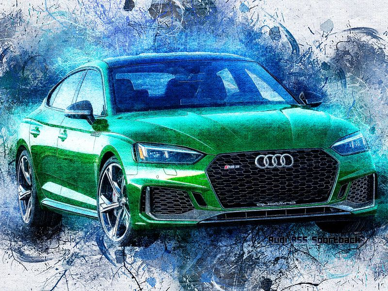 Audi von Printed Artings