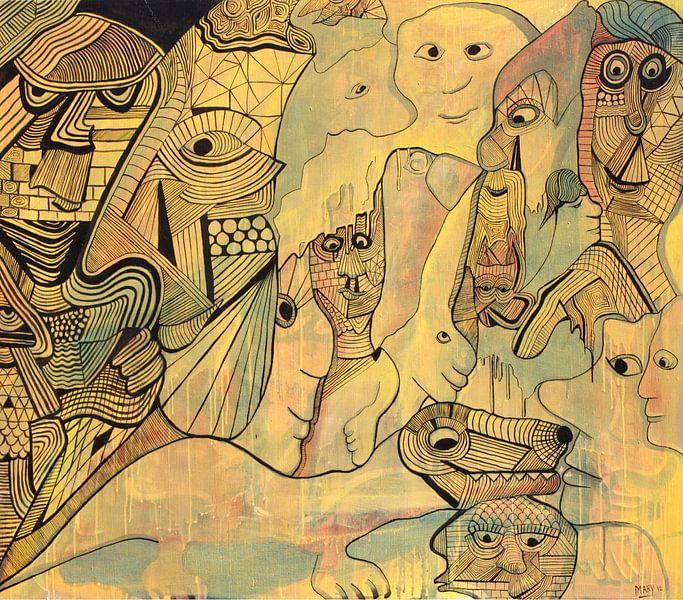 line Figures. van Mary Pedersen