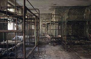 Slaapzaal in Hotel van Perry Wiertz