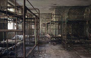 Schlafsaal im Hotel von Perry Wiertz