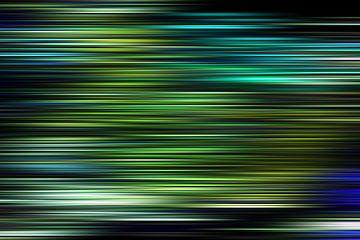Gekleurde strepen van Wim Beunk