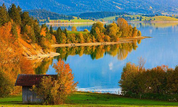 Forggensee, Beieren, Duitsland