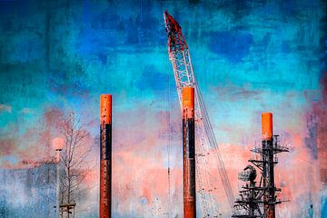 Hafenmotiv_malerisch_20 von Manfred Rautenberg Photoart