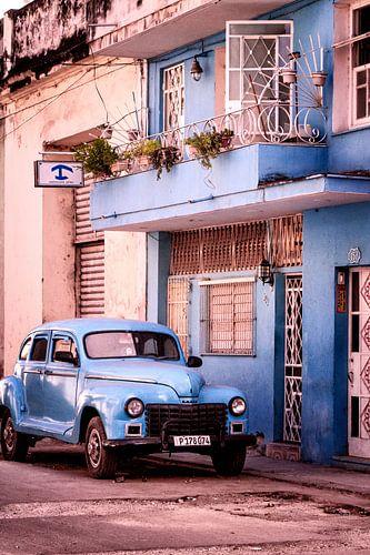 Blauwe Cubaanse Sfeer
