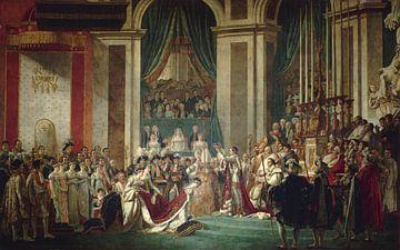 Le couronnement de l'Empereur et de l'Impératrice (2-12-1804), Jacques-Louis David sur