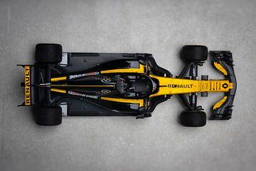 F1 Renault Sport #27 Nico Hulkenberg (Hülkenberg) van Kevin Baarda
