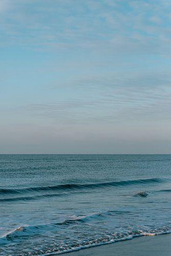 Zandvoort aan zee met een kalme kustlijn  || Noord-holland landschapsfotografie