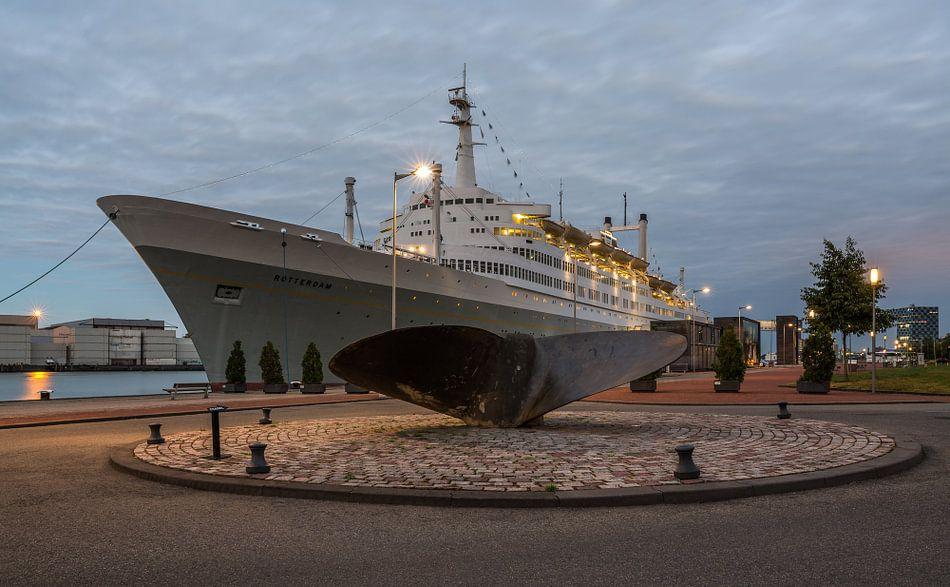 Het SS Rotterdam in Rotterdam van MS Fotografie