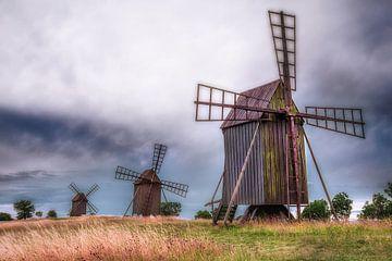 Ölands Windmühlen von Marc Hollenberg