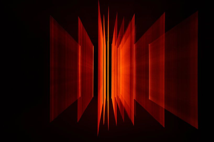 Orange Rahmen 1 von Christel Bekkers