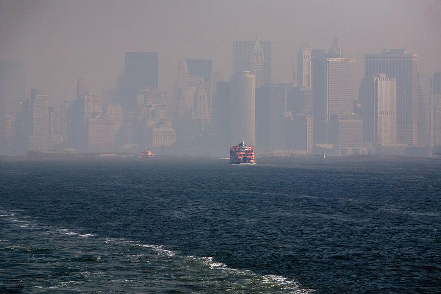 New York Skyline van Jean-Paul Wagemakers