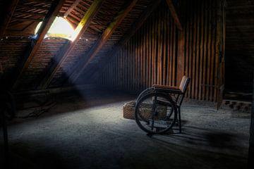 Wie heeft hier gezeten? van Bergkamp Photography