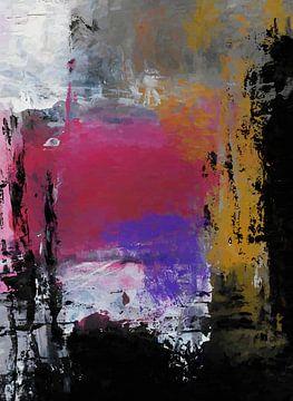 Abstrakte Komposition 1107 von Angel Estevez
