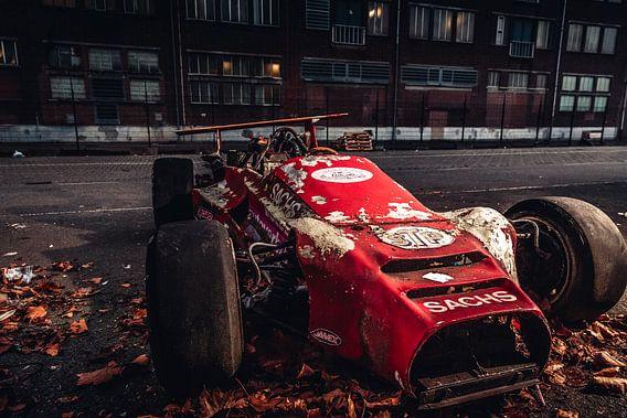 Oude formule Indy racewagen