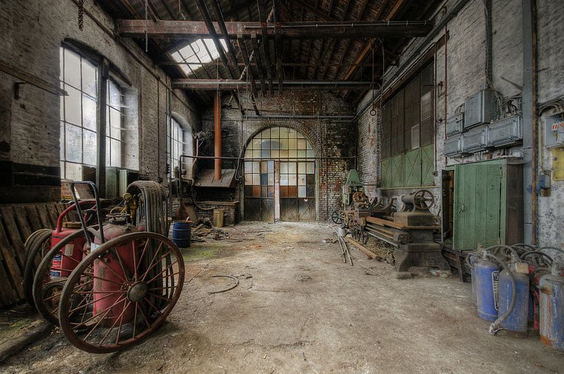 Urbex - Fabriek von Angelique Brunas