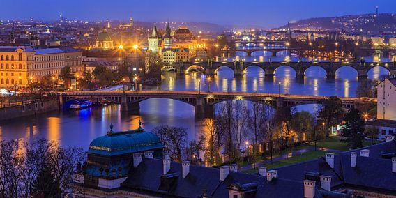 Uitzicht over de oude stad in Praag, Tsjechië - 6