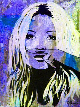 """Kate Mosse """"Liebe"""" von Kathleen Artist Fine Art"""
