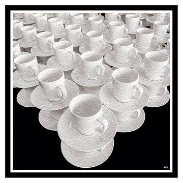 Koppen en schotels van Michel Groen