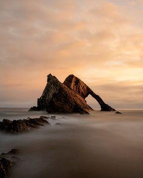 Bow Fiddle Rock dans le nord de l'Ecosse sur Jos Pannekoek