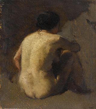 Nackter Rücken - 1845 - 1848 von Atelier Liesjes