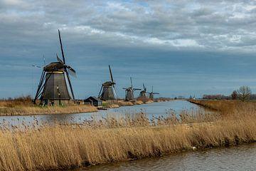 Windmühlen von Kinderdijk I von Dokra Fotografie