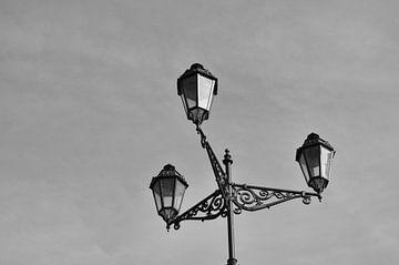 Lantaarn in zwart-wit von Anita van Hengel
