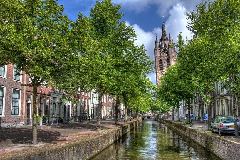 Oude Kerk van Delft van Jan Kranendonk