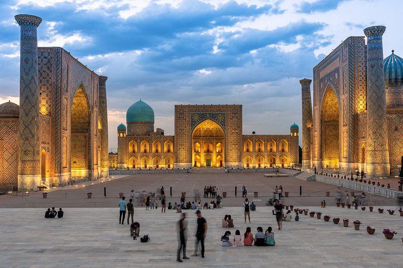 Registan Samarkand van Jeroen Kleiberg