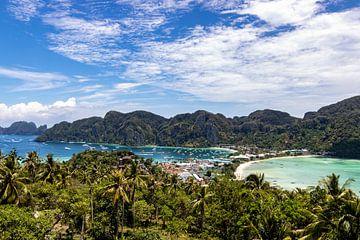 Koh Phi Phi uitzichtpunt van Femke Ketelaar