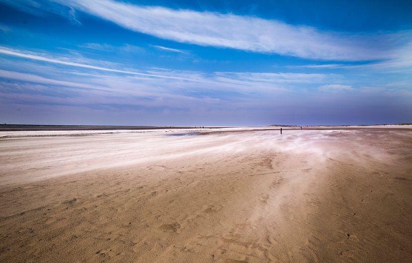 Texel Foto Wind van Natuurlijk schoon