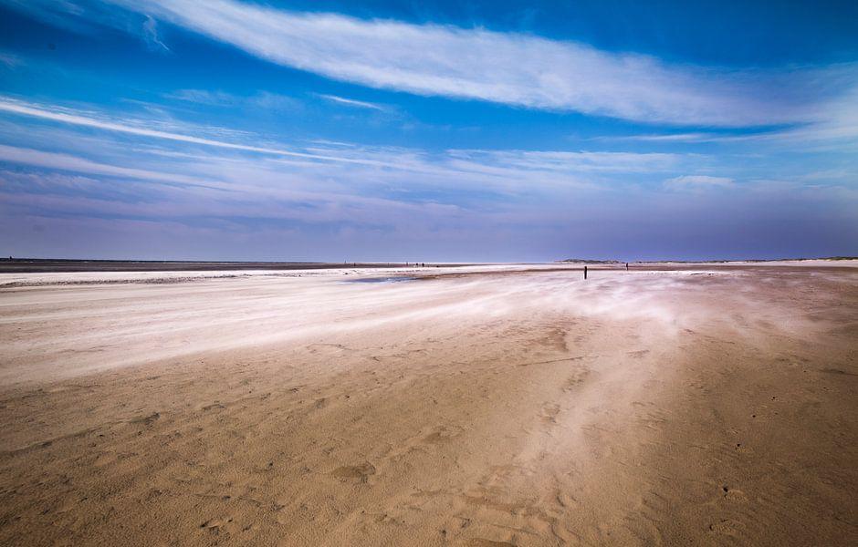 Texel Foto Wind van Sander van Laar