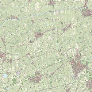 Kaart vanGrootegast