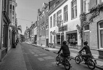 LockDown lege winkelstraten in Tilburg