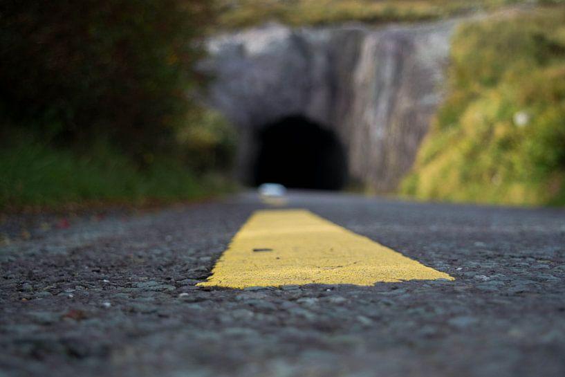 Route door de tunnel van Capfield Photography