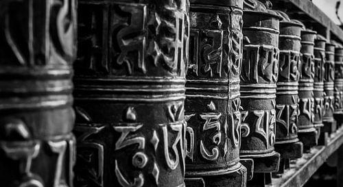 Buddhistische Gebeträder  von Roel Beurskens
