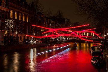 A.N.N. op het Amsterdam Light Festival 2019 van Stephan Neven