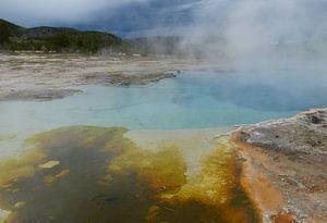 Yellowstone National Park warmwaterbron
