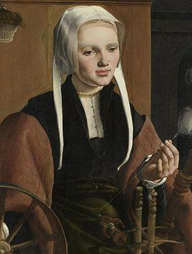 Porträts eines Paares, möglicherweise Pieter Gerritsz Bicker und Anna Codde, Maarten van Heemskerck