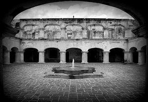 Guatemala Antigua  van