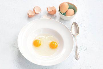 Comment aimez-vous vos œufs le matin ? sur Jacqueline Zwijnen